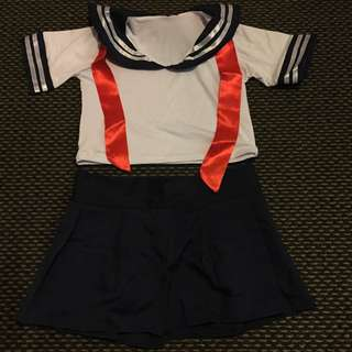 Japanese School Girl Outfit