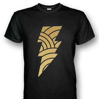 PO BLACK ADAM INJUSTICE T-SHIRT