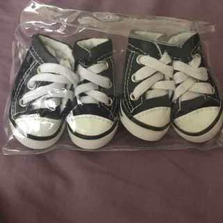 Pet Denim Look Shoes