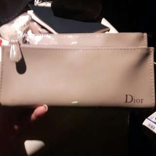 Christian Dior Mini Make Up Bag Or Wallet Purse