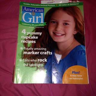 5 American Girl Magazines