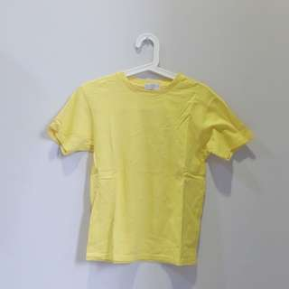 Giordano Yellow Tee