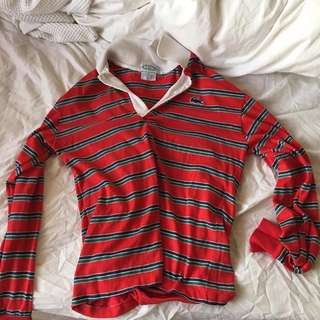 Striped Lacoste Long Sleeve