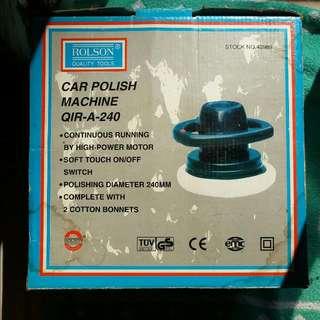 BNIB Car Polishing machine 240mm With instruction Manual  Make in UK