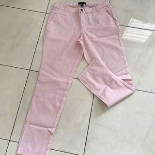 RE PRICE Mango salmon casual trouser