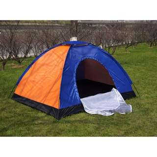 4-Person Camping Tent  (MULTICOLOR)