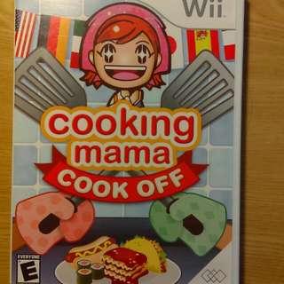 料理媽媽(cooking mama)Wii正版遊戲光碟