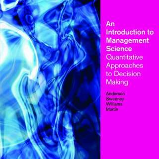 Decision Analysis Answer Key