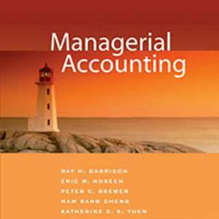 Managerial Accounting Textbook Answer