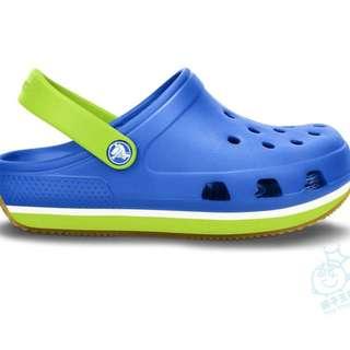 全新 Crocs 生膠底洞洞鞋涼鞋男童鞋