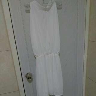 全新小白洋裝👍