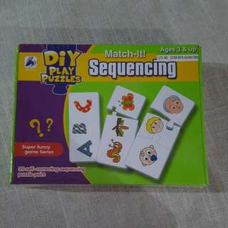 Sequencing Puzzle Cards / Match It Sequencing
