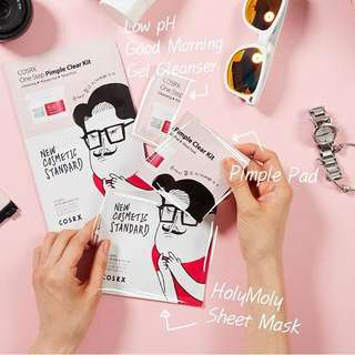 [COSRX] One Step Pimple Clear Kit & One Step Moisture Up Kit