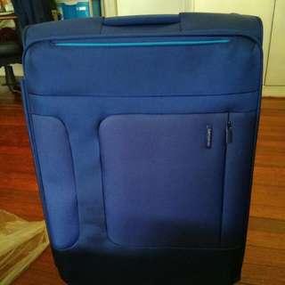 Samsonite blue Luggage Bag