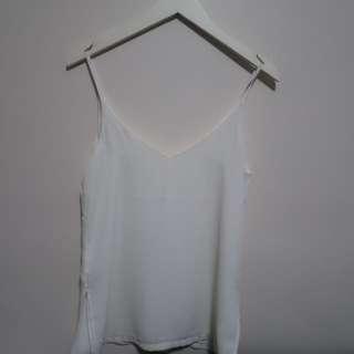 H&M White Cami