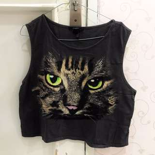 Cat Muscle Tee