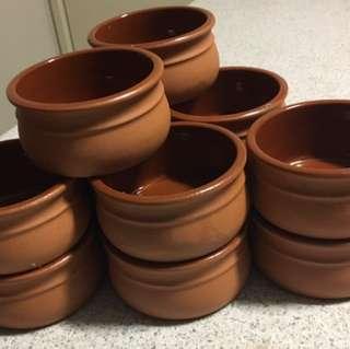 14 Traditional 150ml Terracotta Ramekins