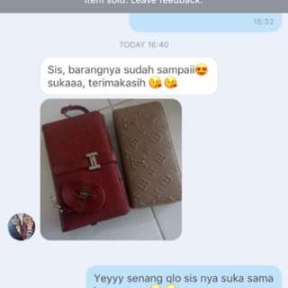 Testimoni From My Lovely Customer ❤️