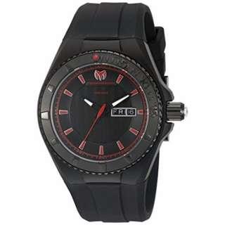 Authentic Technomarine Men's Tm-115168 Cruise Night Vision Black
