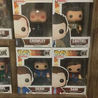 Pop Vinyl Figurines Supernatural, The Hobbit, Buffy The Vampire Slayer