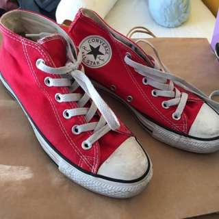 Red Converse Sneakers
