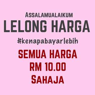 All Items Are RM 10