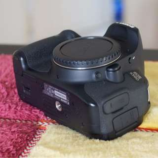 Canon 650D (only body) | shutter count 17.000