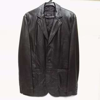 Authentic G2000 Genuine Lambskin Leather Jacket - Almost New