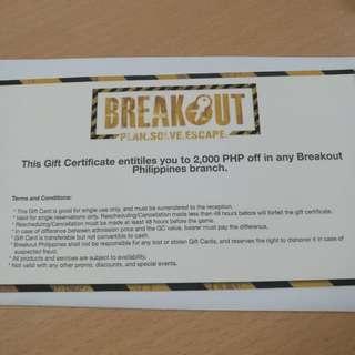 Breakout GC