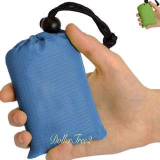 迷你輕便戶外露營野餐墊防水方便可摺疊草地沙灘墊防潮墊Mini pocket blanket