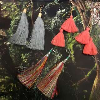 Tassel Earrings TAKE ALL