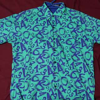 Men's Number Printed Polo