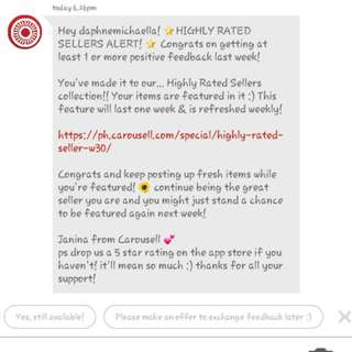 "Another ""THANK YOU"" CAROUSELL ☺☺☺"