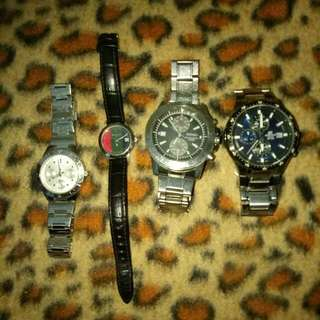 2 Ladies Watch N 2 Men Watch