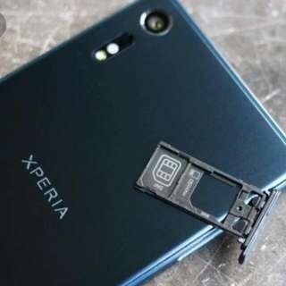 Sony Xperia XZ 防水塞 (單卡雙卡)