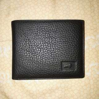 Braun Buffel Leather Wallet (Authentic)