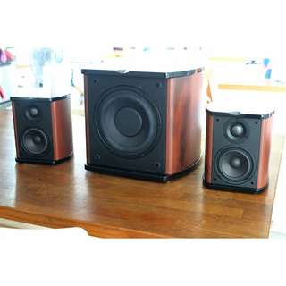 HIVI SWANS M50W 2.1 SPEAKER SYSTEM SOLD!