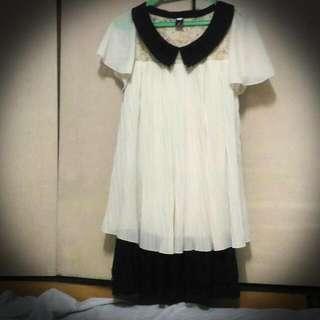 Pre-loved Vintage Cream White Dress