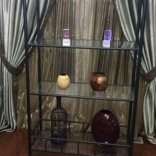 Beautiful Metal and Glass Shelf