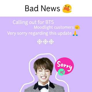 BTS MOODLIGHT UPDATE
