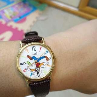 正版Disney 高飛狗趣怪手錶(庫存)