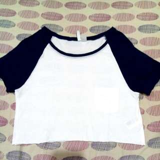 H&M cropped top!