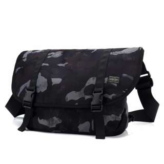 2fc0923ad26a  DARK CAMO  HEAD PORTER Yoshida Messenger Sling Shoulder Bag
