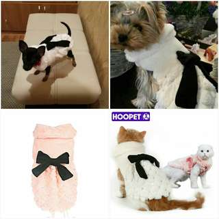 AFFORDABLE AND ELEGANT PET WINTER CLOTHES.