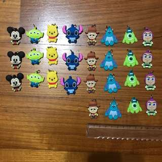 Disney Silicone Charms