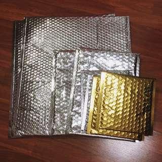 Metallic Bubble Envelope