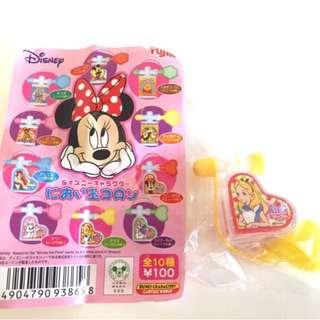 迪士尼 Disney 愛麗斯 愛麗絲 Alice 絕版 香水 扭蛋