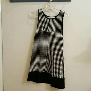 Urban Outfitters B&W Mini Dress