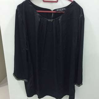 Blouse In Black Color