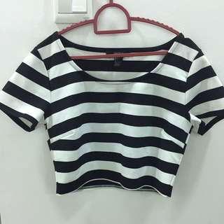 Crop Top By Forever 21